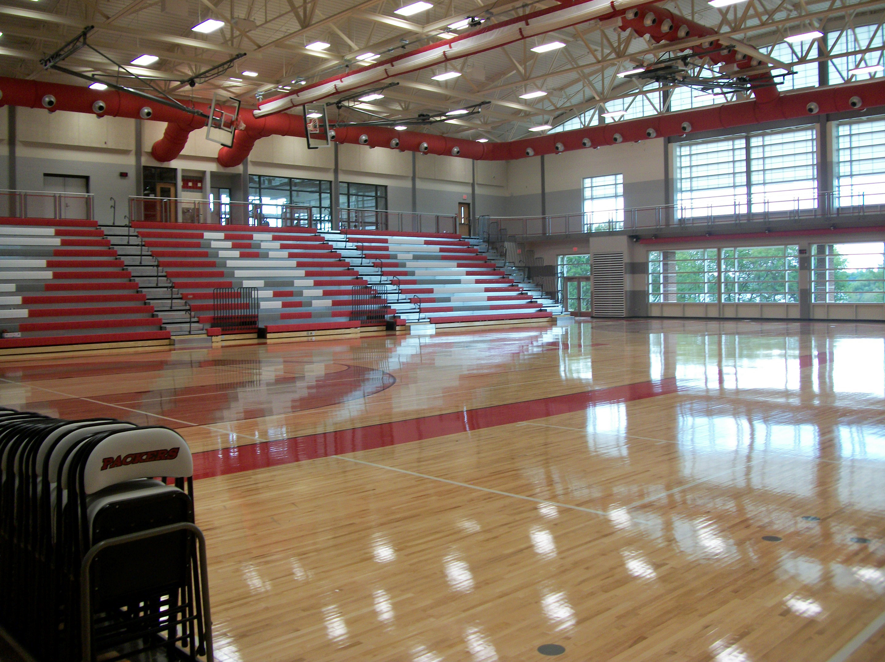 Image gallery high school gym designs for Basketball gym designs and layout